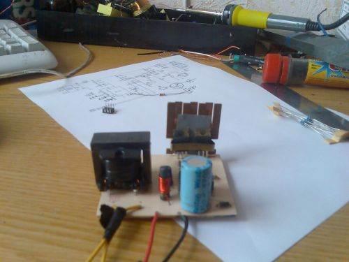 SG3525 12 Volt 220 Volt Inverter Circuit sg3525 12volt 220volt