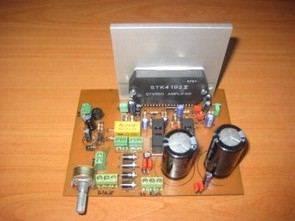 STK4192 2X50 Watt Anfi Hoparlör Koruma Ses Kontrol