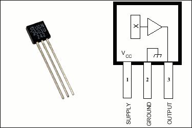 UGN3503 Hall Effect Sensor High Current Measurement ugn3503 hall efekt eleman
