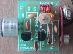 100-150m Basit Mini FM Verici Devresi 9V