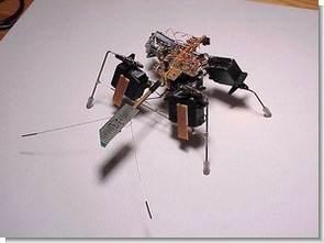 74AC240 7408 ile Böcek Robot