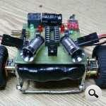 MC9S08QG8 Microcontroller Project with a Bluetooth Controlled Robot model maket araba uzerinde gsm robot 150x150