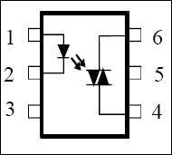 optocoupler-DIAC
