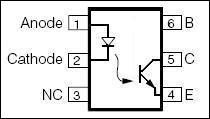 optokuplor-transistor