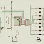 PIC16F84  Programmer Experiment Board pic programlayici deney seti devresi 150x150