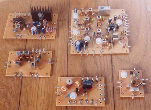 Amateur Radio SSB VFO PLL Transceiver Receiver Circuits 14mhz 50mhz 5mhz pll vfo ssb