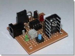 LM393 LM317 ile Lityum iyon Piller için Hızlı Şarj