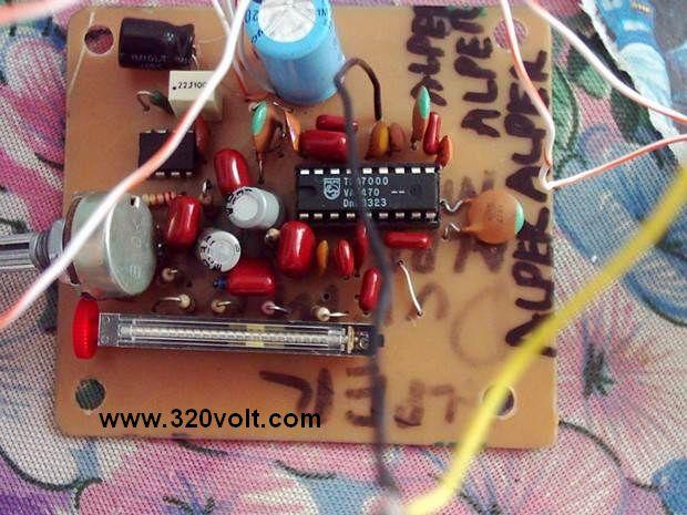 TDA7000 FM Radio Circuit anfili fm alici