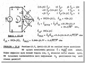 Devre Çözümleri Teoremler Hesaplamalar