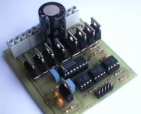 Unipolar Stepper Motor Driver Circuit - Electronics Projects Circuits.