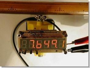 PIC16F84 Led Display Göstergeli Frekans Sayıcı