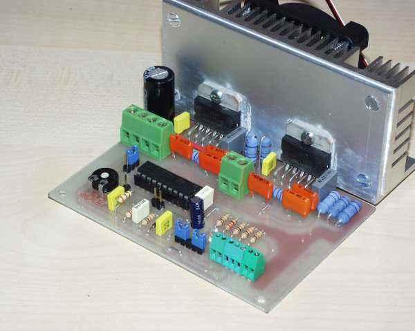 L6203 l297 h bridge stepper motors driver circuit for Cnc stepper motor controller circuit