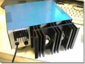 LM723 2N3055 Voltaj Akım Ayarlı Güç Kaynağı