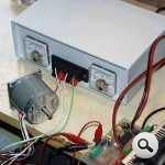 L6203 L297 H Bridge Stepper Motors Driver Circuit motor surucu devresi test 150x150