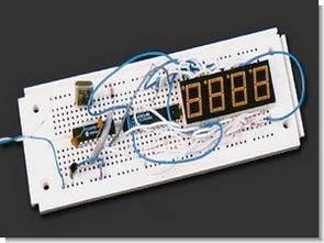 PIC16F84 DS1920 MAX7219 Sıcaklık Göstergesi CCSC