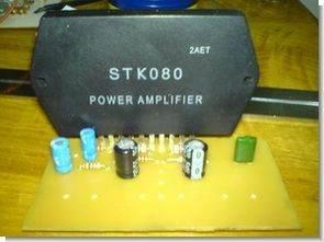 30 Watt Mono Anfi Devresi STK080