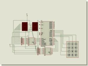 8051 mikrodenetleyici ile aşağı yukarı sayıcı devresi