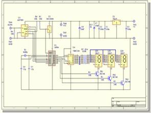 ADXL05 PIC16F84 eğim açısı ölçümü görüntüleme
