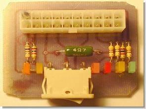 Atx güç kaynağı için basit test devresi