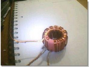 Balık oltası kamışı toroid trafo ile vertikal tuner anteni