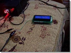 DS18B20 PIC16F628 araç içi dışı termometre picbasic
