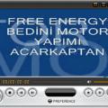 Free Energy Bedini Fan Yapımı