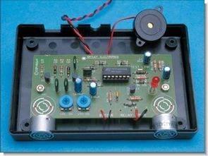 MA40A3R HCF4093 İle Ultrasonik Radar Park Sensörü