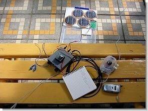 Mini güneş panel sistemi DC-DC dönüştürücü