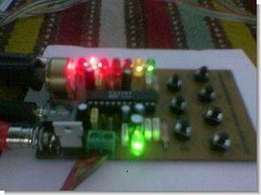 PT2389 5 kanal ekolayzer 3d efekt bass filtre devresi
