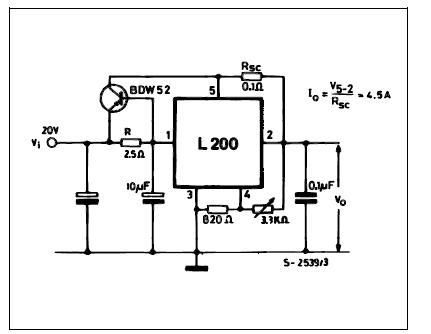 Дополнительная информация по применению L200. http://eu.st.com/stonline/books/pdf/docs/1318.pdf. http...