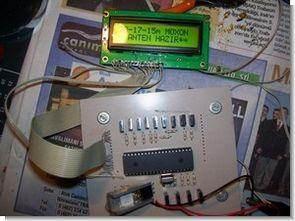 16f877 ile lcd göstergeli butonlu anten kontrolü ccs c