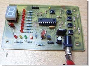 18 pin pic16f628 için basit deneme geliştirme devresi