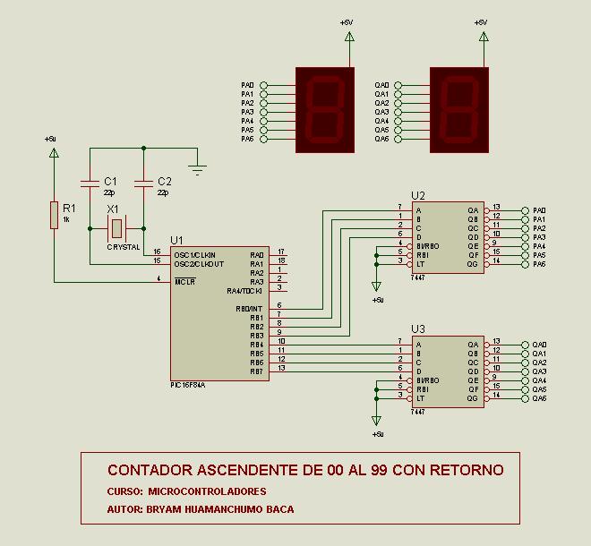 pic16f84 00 99 forward, backward counter circuit picbasic pro Up Counter Circuit pic16f84 00 99 forward, backward counter circuit picbasic pro 7447 pic16f84a assembly ileri sayici 150x150