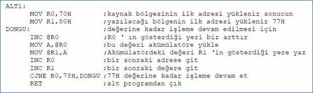 8051_programlama_arttirma_eksiltme
