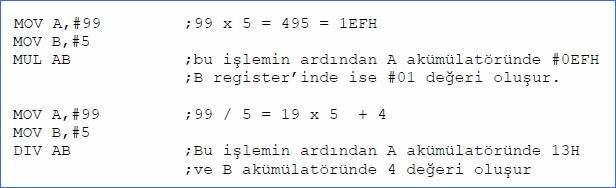 8051_programlama_carpma_bolme
