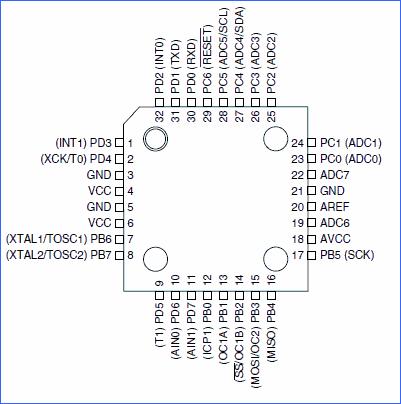 atmega8-microdenetleyici-bacak-baglanti-semasi-tqfp