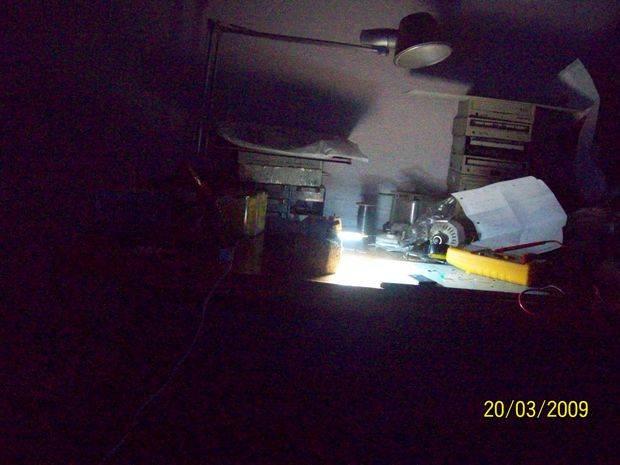 Transformerless LED Light 20LEDs ekonomik led lamba karanlik test