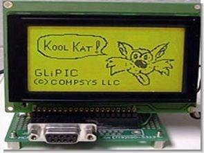 Grafik lcd için picbasic pro kod üretici program GLiPIC