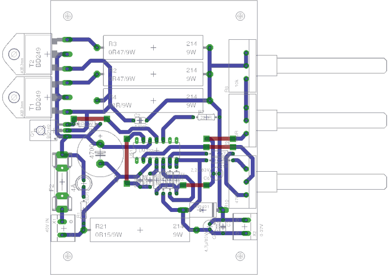 Mod Rly2 5v together with Easy Stereo Vu Meter By Ka2284 further Yamaha Power  lifier Pa 2400 also Arduino Uno R3 China further Pcb Designing Facing Problem In Connecting Pushbutton. on pcb circuit diagram