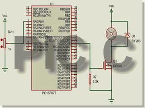 Mikrodenetleyici uygulamaları bilgiler pic c pic16f877