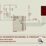 Hexadecimal, Binary Counter Circuits LED Display PIC16F84 pic16f84a hexadecimal sayici butun kontrol 150x150