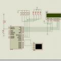 PIC16F84 PIC16F877 Deneme devreleri isis simülasyon