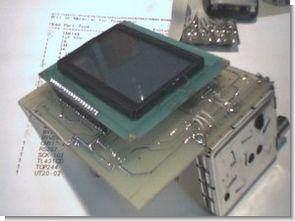 PIC16F877 d7g2121 tuner uygulaması uydu bulucu 128×64 glcd