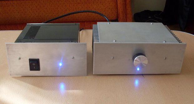 100 Watts MOSFET Amplifier Project 100w anfi tamamlanmis hali