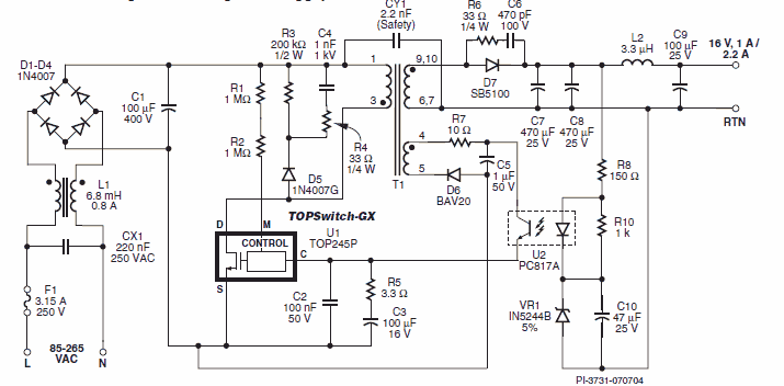 Power Integrations Reference Smps Power Supply Designs