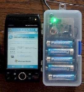5V 2A Switching Regulator Circuit Mosfet 2SJ552 LM311 Control anahtarlamali regule panasonic pil pda