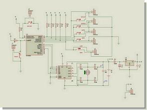 L298 PIC16F628 Geri beslemeli motor kontrol pwm