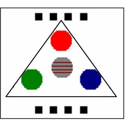 Color Sense Circuit LCD PIC16F877 Picbasic Pro ldr baglantisi