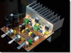 LM1875 2X22Watt Bass tiz ses seviye kontrollü anfi
