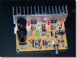 LM3886TF Stereo hoparlör korumalı anfi devresi